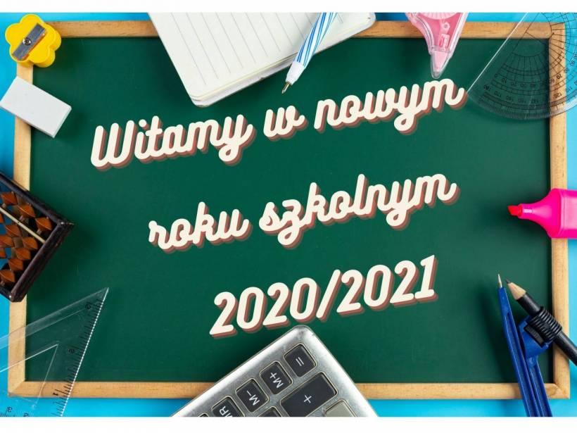 Witamy w roku szkolnym 2020/2021